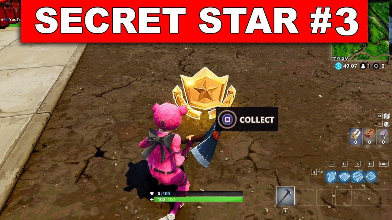 Secret Battle Star Week 3 Season 5 Location Fortnite Battle Royale Road Trip Challenges