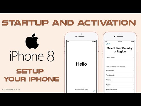 How do you setup your email on iphone 8 plus
