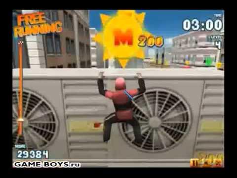 Прохождение игры Паркур 3Д (Свободный бег - Free Running)