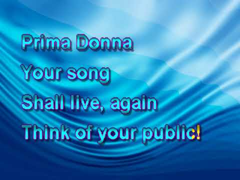 Yerrow Karaoke - Phantom Of The Opera - Prima Donna PS