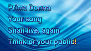 Yerrow Karaoke - Phantom Of The Opera - Prima Donna PS