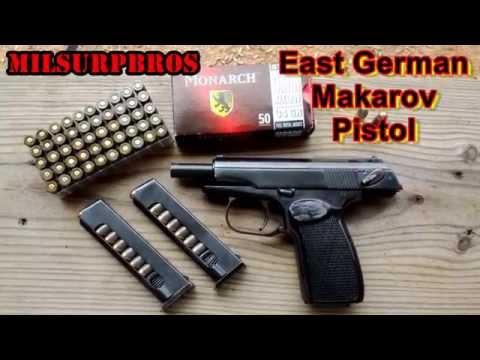 East German Makarov Pistol (9x18 Makarov)