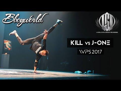 Kill vs J-One // .Bboy World // WPS 2017