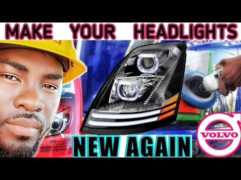 How To Clean & Restore Headlights  On Trucks or Any Vehicle. Vlog #83