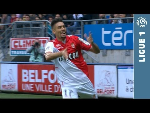 Goal Yannick FERREIRA CARRASCO (10') - FC Sochaux-Montbéliard - AS Monaco FC (2-2) - 2013/2014