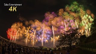 [4K Ultra HD] 2014 世界一美しい長岡花火大会復興祈願花火フェニックス NAGAOKA FIREWORKS PHOENIX