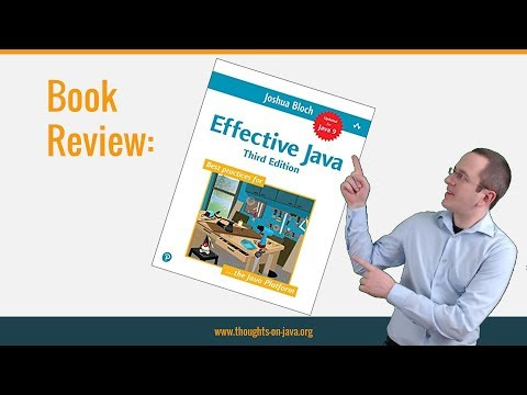 Effective Java 3rd Edition - Book Review