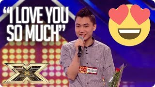 IN LOVE WITH ONE OF THE JUDGES! | The X Factor UK