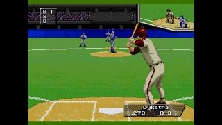Triple Play 96 (SEGA GENESIS) Phillidelphia vs Toronto