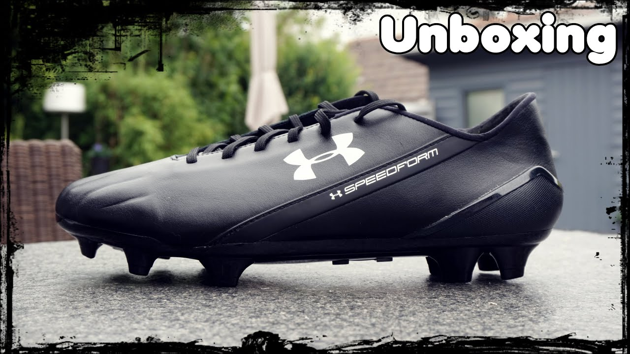 183f5275857a Unboxing: Under Armour Speedform CRM Leather FG - YouTube