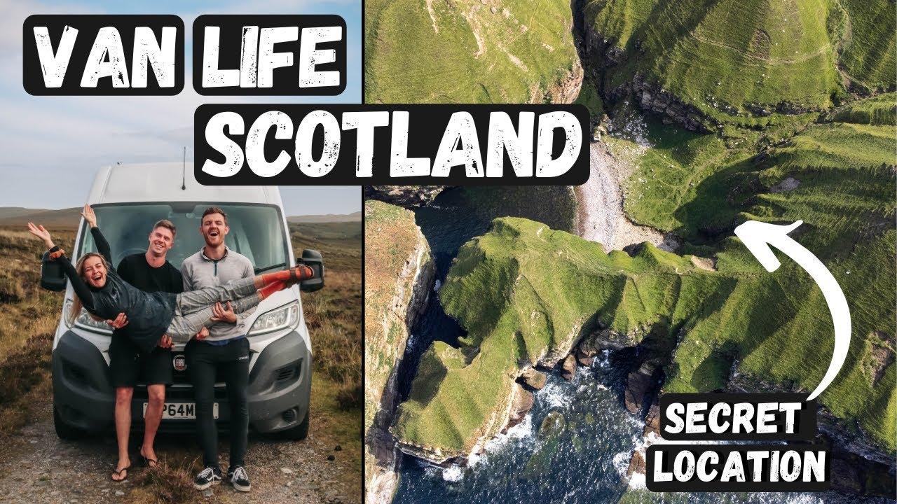 PARADISE IN SCOTLAND! VAN LIFE UK! (NC500 Road Trip)