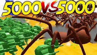 Home Wars - 5000 MECH SUITS vs 5000 BIRD EATING SPIDERS - Home Wars Gameplay