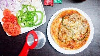 Pizza in Pressure Cooker  No Oven Pizza Recipe
