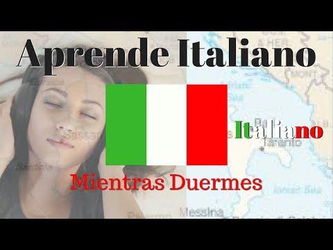 Aprender Italiano Mientras Duermes // 125 Frases Basicas \\ Subtitulos