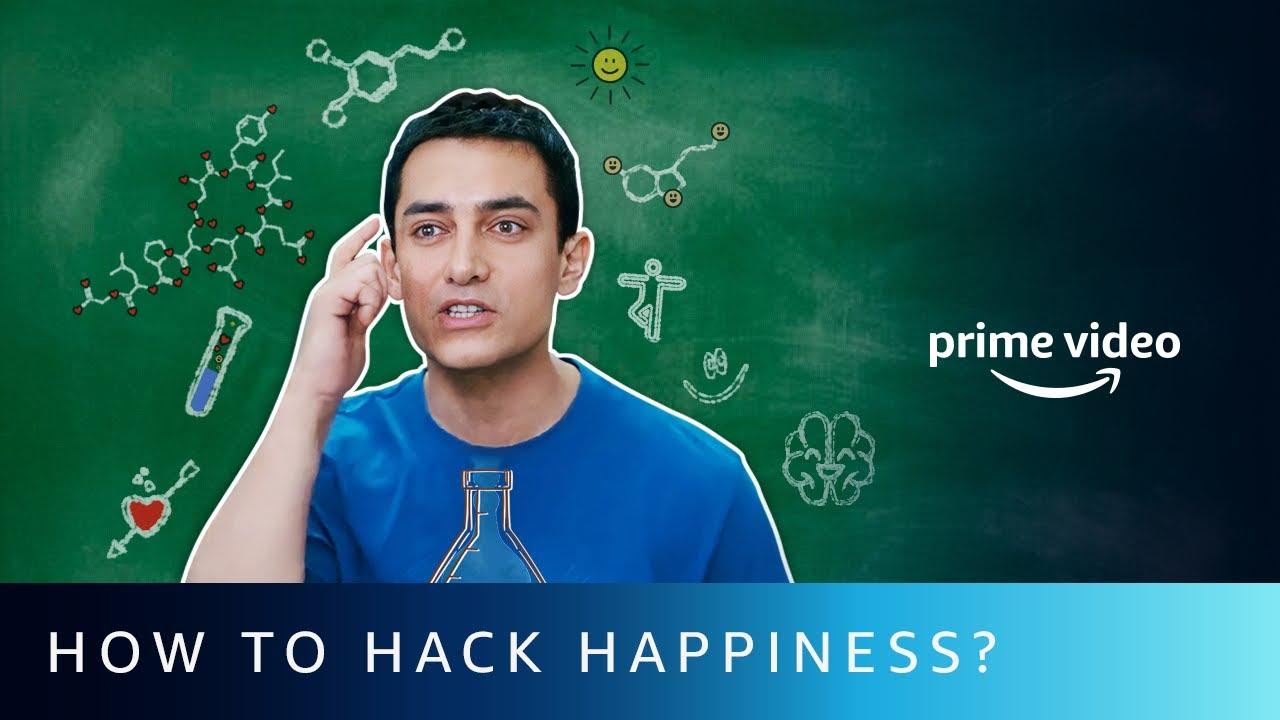 How to Hack Happiness Chemicals // 4 Chemicals to Hack Your Happiness | Amazon Prime Video