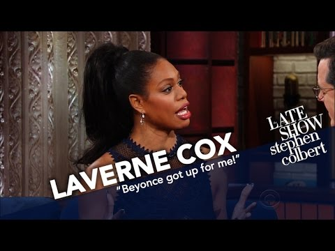 Laverne Cox Did Not Cry While Meeting Beyoncé