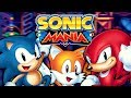 Sonic Mania Sonic Knuckles Complete Playthrough All 12 Zones Chaos Emeralds mp3