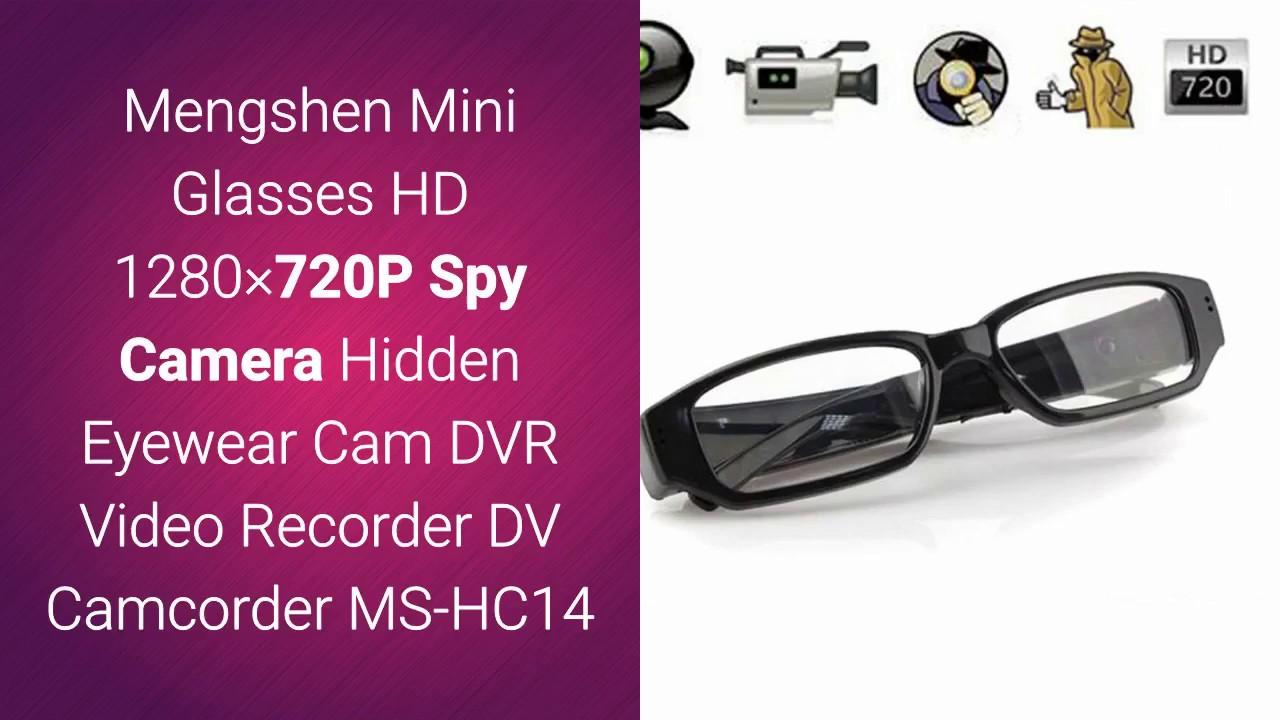 Mini HD 1080P Camera Glasses Hidden Eyewear DVR Video Recorder Cam Camcorder