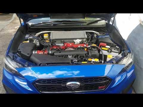 2018 WRX STi spec r Blow by gas discussing oil leaks crankcase ventilation viewers questi