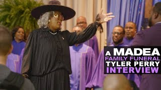 'A Madea Family Funeral' Tyler Perry Interview