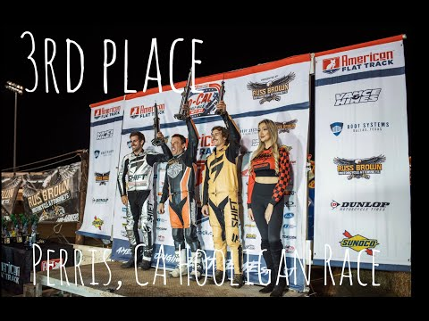 VLOGSACK || 3rd place finish on the Perris 1/2 Mile
