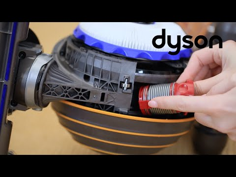 Dyson Ball DC40, DC42, DC50, DC51 or UP15 upright vacuum - Replacing the internal hose
