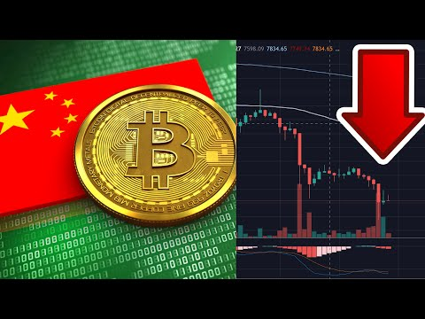 Bitcoin Nosedives Because Of China?