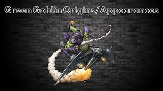 Green Goblin: Origins/Appearances (TV Shows and Movies)