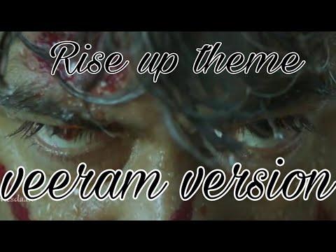 Rise up theme veeram version #thala #ajith #ulitimate star