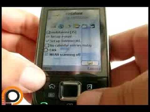 Nokia E66 handson