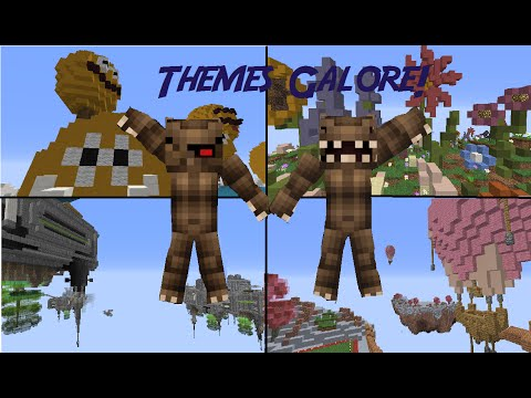 Minecraft: All Rare Themes (With their Given Blocks)! | Hypixel Housing