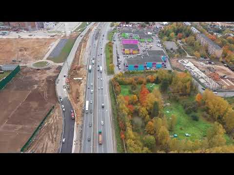 Ярославское шоссе 02 10 2019 Обход Пушкино