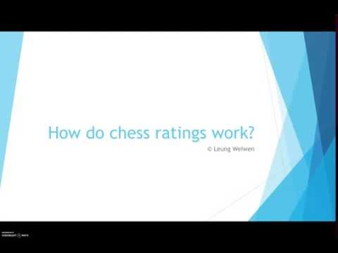 How do chess ratings work?