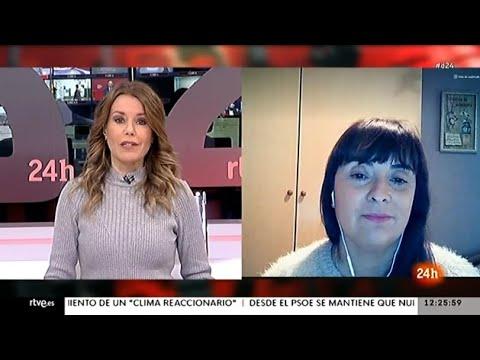 Entrevista a Cristina Antoñanzas en el Canal 24 horas de TVE