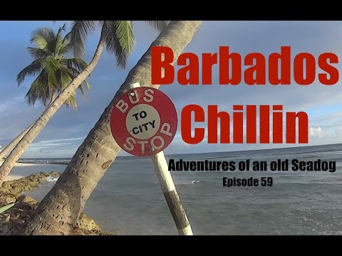Barbados Chillin.  Adventures of an old Seadog Epi 59