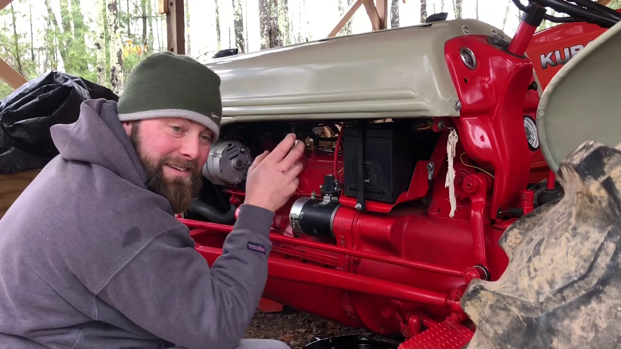 37 Changing Oil On Ford 8n Tractor Youtube