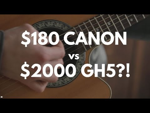 I chose a $180 CANON EOS M over a $2000 PANASONIC GH5 for a music video!