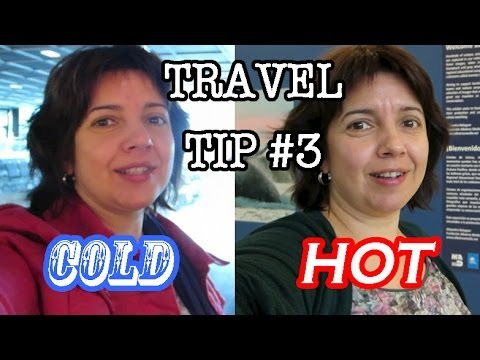 Travel Tip #3: Dressing for Different Temperatures
