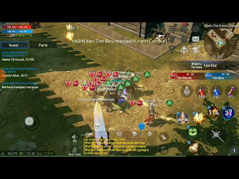 Stress Coba Open Fortress Siege!! Lineage 2 Revolution Indonesia