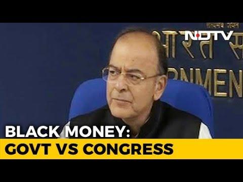 Congress Questions Black Money Math in PM Modi's Speech, Arun Jaitley Says 'No Confusion'