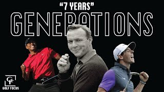 "THE GENERATIONS OF GOLF - ""7 YEARS"""
