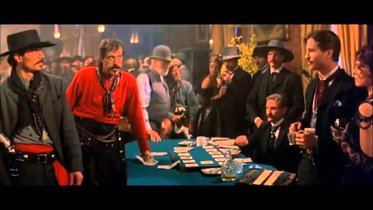 Doc Holliday vs Johnny Ringo - YouTube