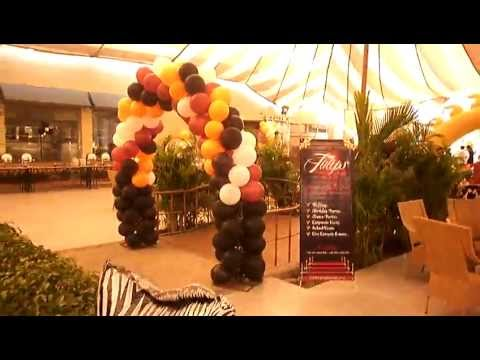 How to Plan Best Jungle Zoo Birthday Theme in Lahore Pakistan YouTube