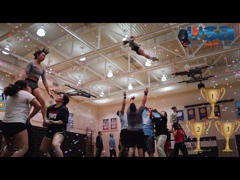 ECHS National Cheerleading Champions 2019