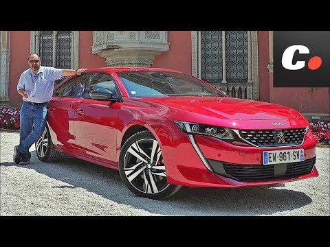 Peugeot 508 Primera Prueba Test Review en espaol coches.net