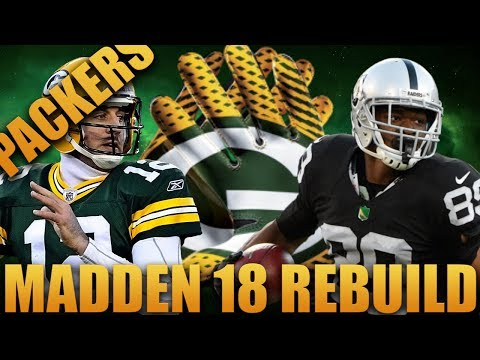 Rebuilding the Green Bay Packers | Madden 18 Franchise Rebuild Best Rookie Draft Ever!