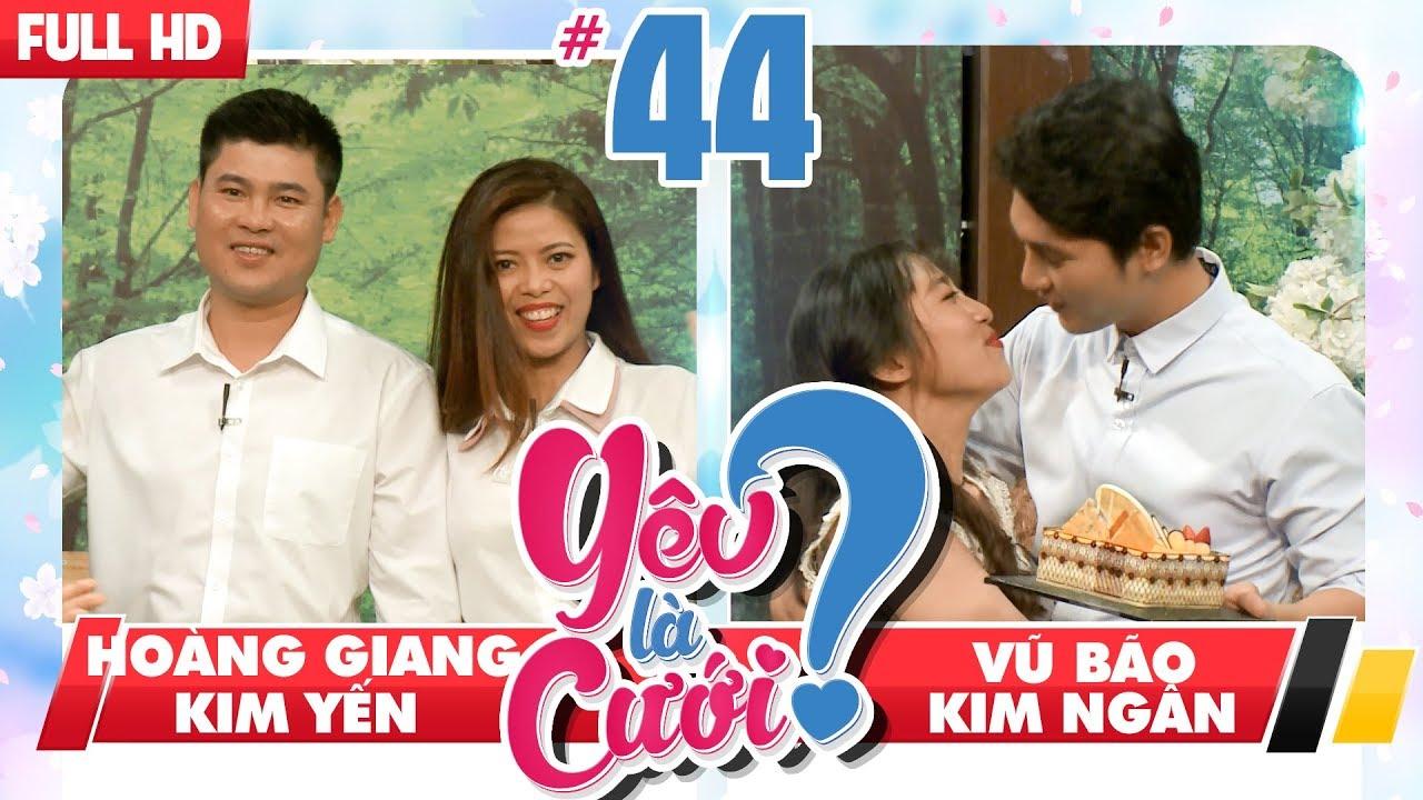 YÊU LÀ CƯỚI? | YLC #44 UNCUT | 'Cưỡng hôn' sưng môi bạn gái - Khóc như mưa vì ghen | 180818