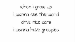 Pussycat Dolls - When I grow up LYRICS