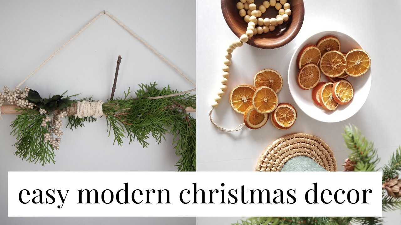 5 EASY Scandinavian Inspired Christmas Decor Ideas