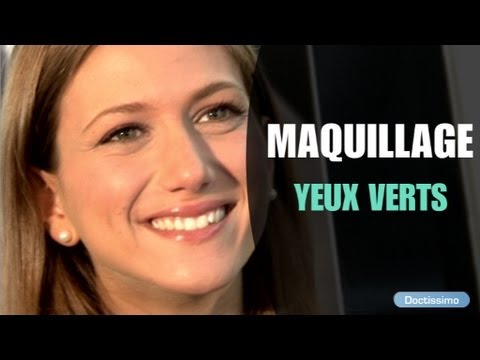 Comment Maquiller Des Yeux Verts Youtube